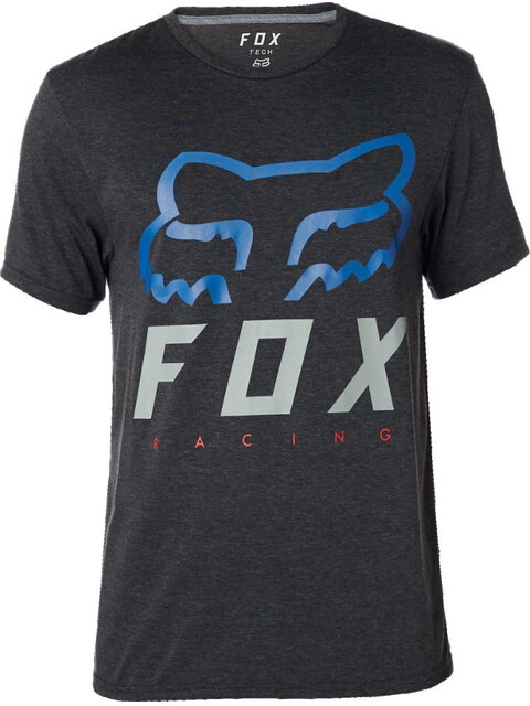 Fox Heritage Forger Tech Short Sleeve T-Shirt Men heather black